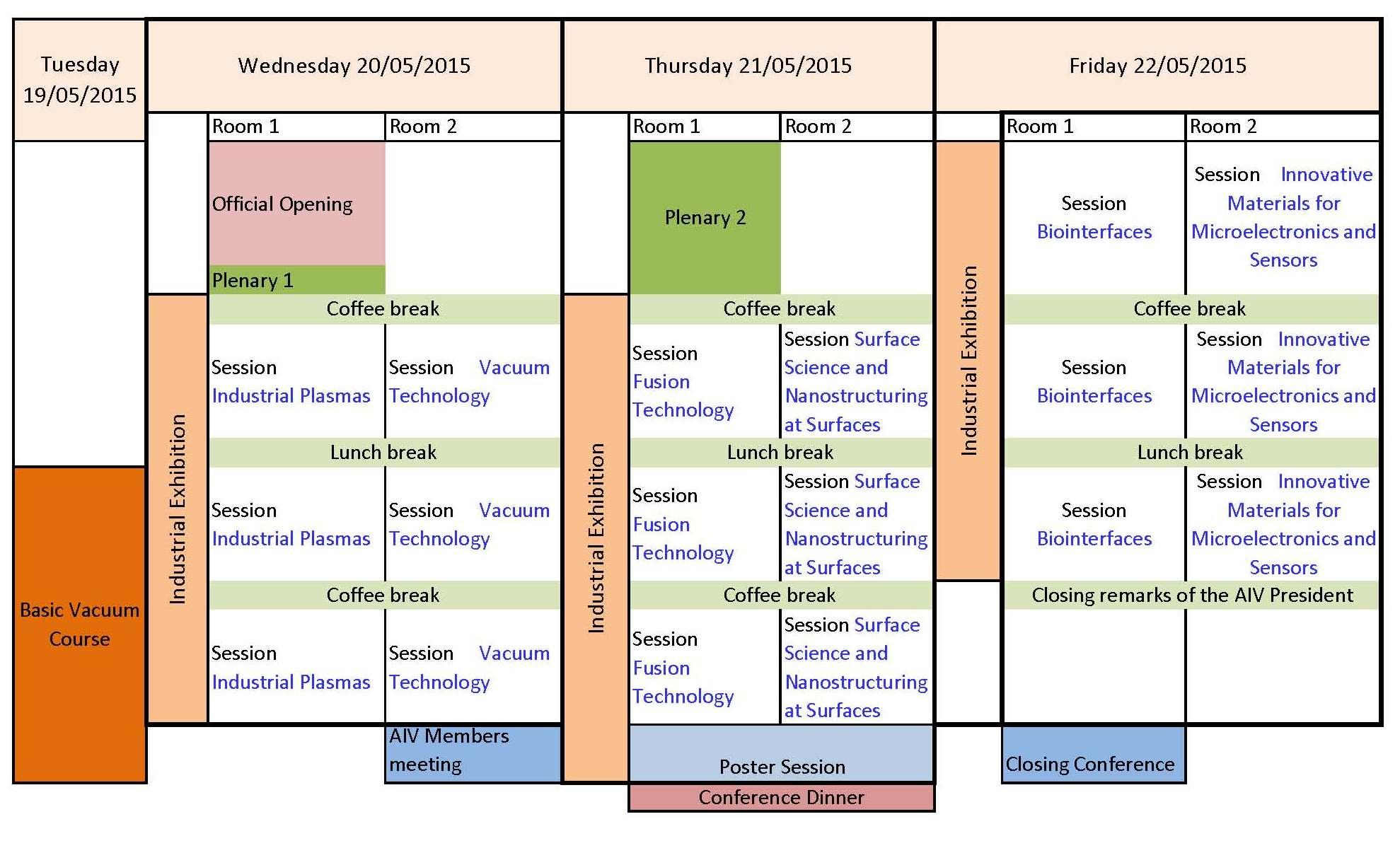 Schematic Time Schedule_AIVXXII_apr15